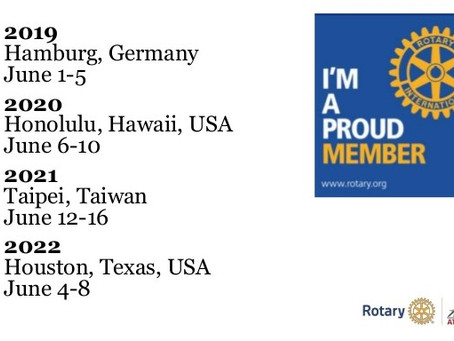 About Rotary International Conventions