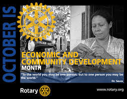 October is Economic & Community Development Month