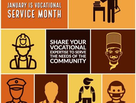 January is Vocational Service Month