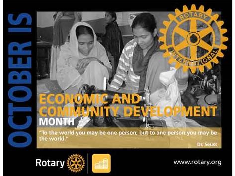 October 2021 is Community Economic Development Month