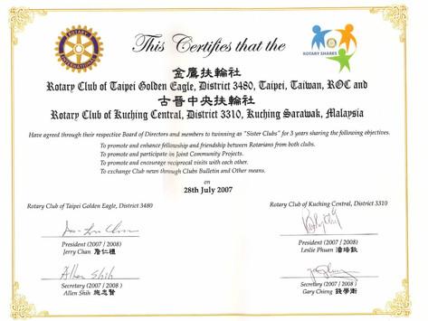 Club Partnerships via Sister Club/Twin Club Agreement