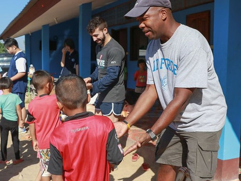 Unity Concord Int'l School Interact Returns to Chiang Rai Orphanage