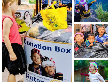 Winter Clothing Donations Reach Ban Pui School in Chiang Mai Province