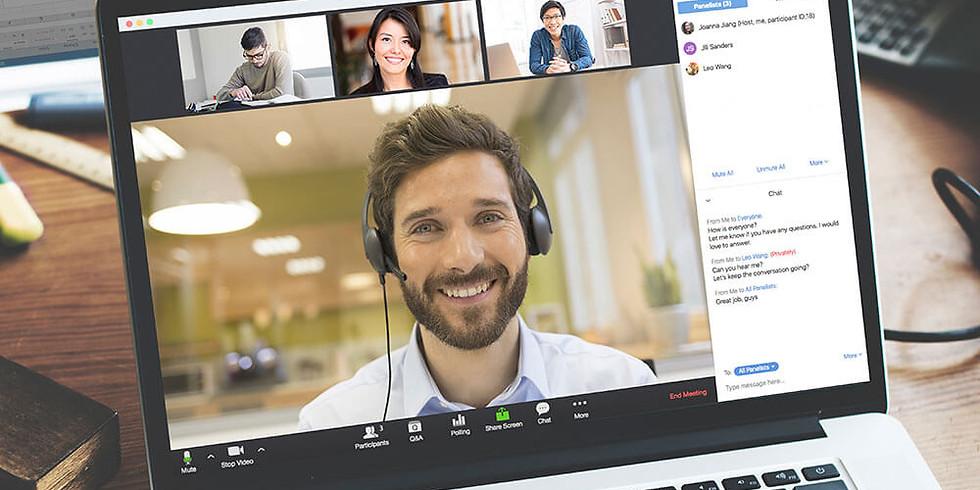 CMIRC Regular Zoom Meeting (Online)