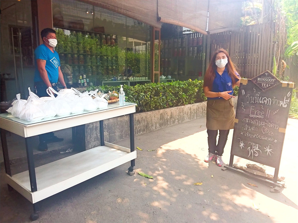 Philanthropy Connections & Monsoon Tea Launches 'Free Meals' Initiative