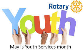 May is Rotary Youth Service Month