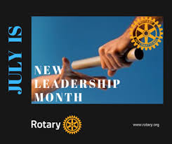 Rotary Focus for the Month of July: None Designated