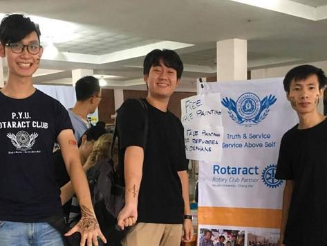 Rotaract Club of Payap University September Report