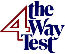 History of the Four-Way Test