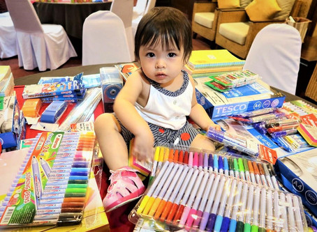CMIRC Delivers School Supplies to Children Near Thai-Myanmar Border