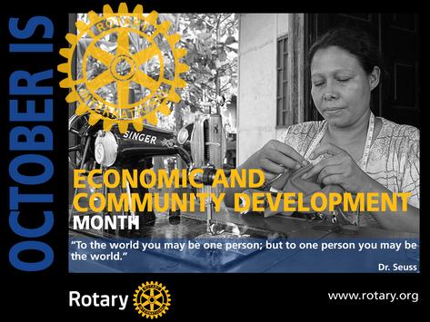 October is Economic & Community Development Month