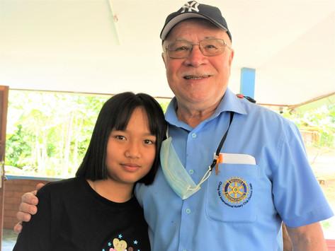CMIRC's Little Girl at Warm Heart in Phrao