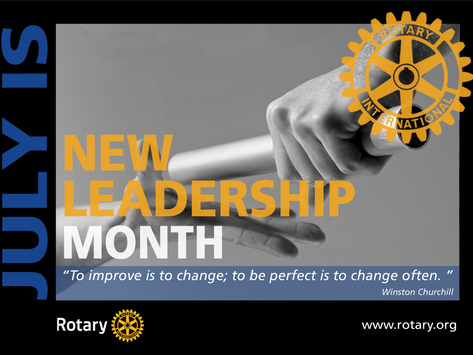 July is New Leadership Month