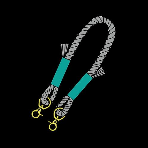 ロープの持ち手