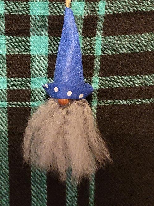 Gnome Ornament - Brimming With Dots