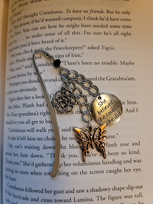 She Believed She Could Charm Bookmark