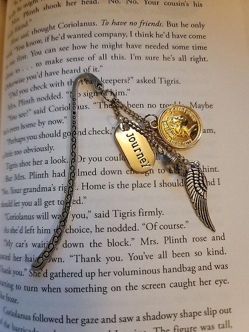 Journey Charm Bookmark