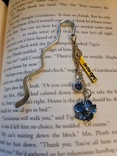 Be the Light Charm Bookmark