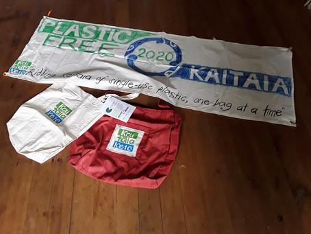 Ridding Kaitāia of single-use plastic, one bag at a time…