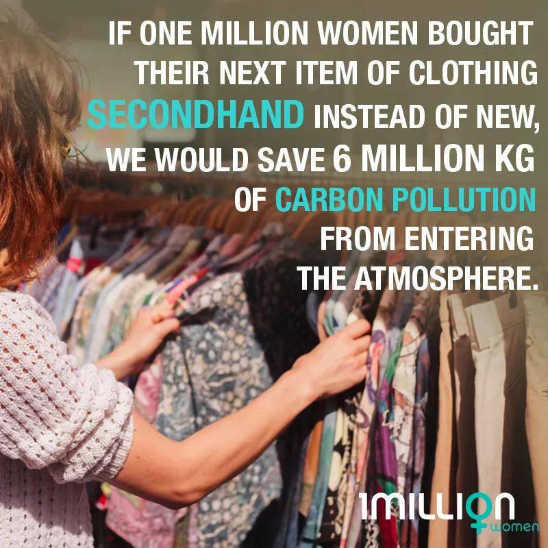 2nd hand clothing 1millionwomen