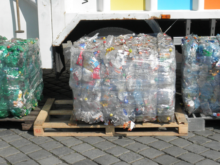 Updated info on recycling plastic bottles