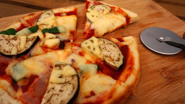 野菜たっぷりピザ!!