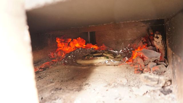薪を割って火を焚け!!!