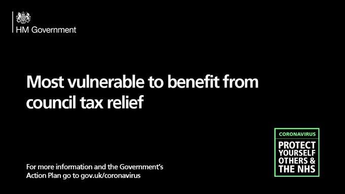 Today the government confirmed the details of a £500m Hardship Fund