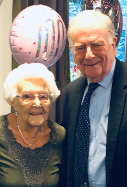28 December 2019 At St Clements Court in Herne Bay. A very happy 100th Birthday today (28th December