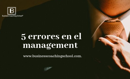 5 errores en el management