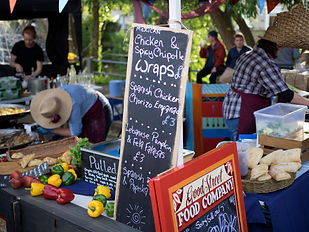 Wraps at the Frome Independent Market
