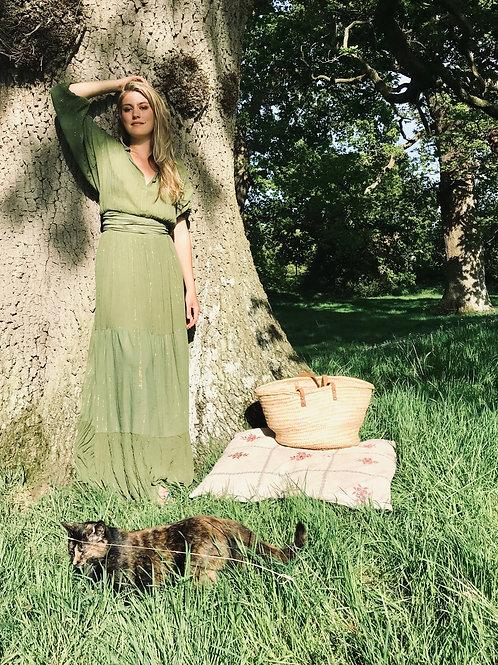 Maxi Dress - Amazon Green