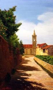a path , Bragança /ブラガンサの小道