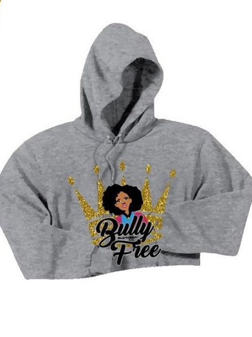 Bully Free Crop Top Sweater