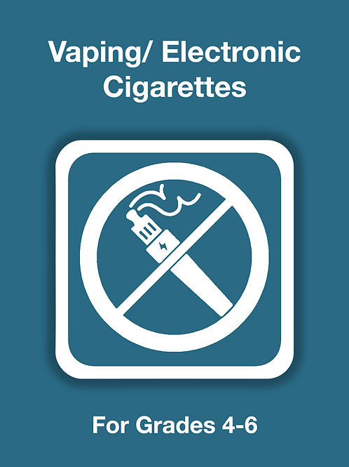 E-Cigarettes/ Vaping