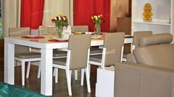 Table LAQUE et Chais simili