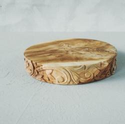seken Tapas Round carving 2806