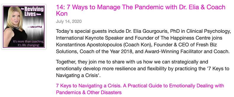 14 7 Ways to Manage The Pandemic with Dr