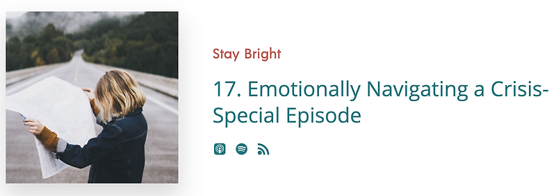 Podcast  Stay Bright Movement 2020-05-21