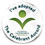 Funeral Celebrant Accord badge from The Funeral Celebrancy Council