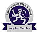 National Association of Funeral Directors Supplier Logo
