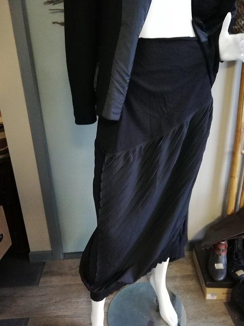 Jupe noire MOLOKO Taille élastique XL