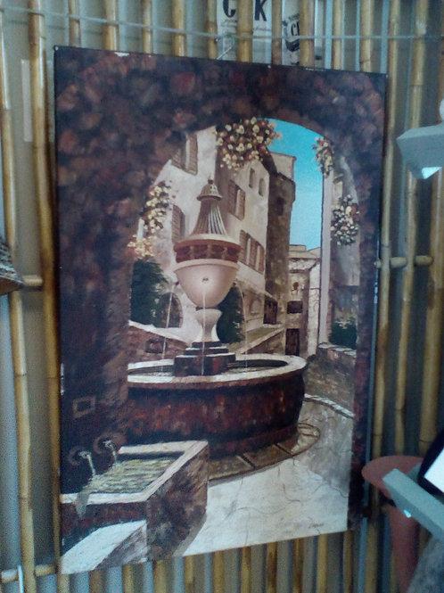 Lot de 2 tableaux Peintre LAINAS
