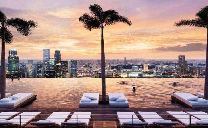 十個世界最美的無邊際泳池