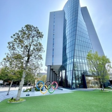 Japan Sport Olympic Square(約 50公 尺 )