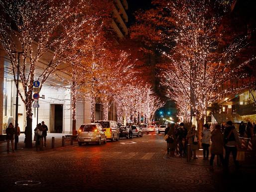 街頭巷尾閃耀著迷人燈飾的東京,是亞洲最具聖誕氣息的奇幻國度