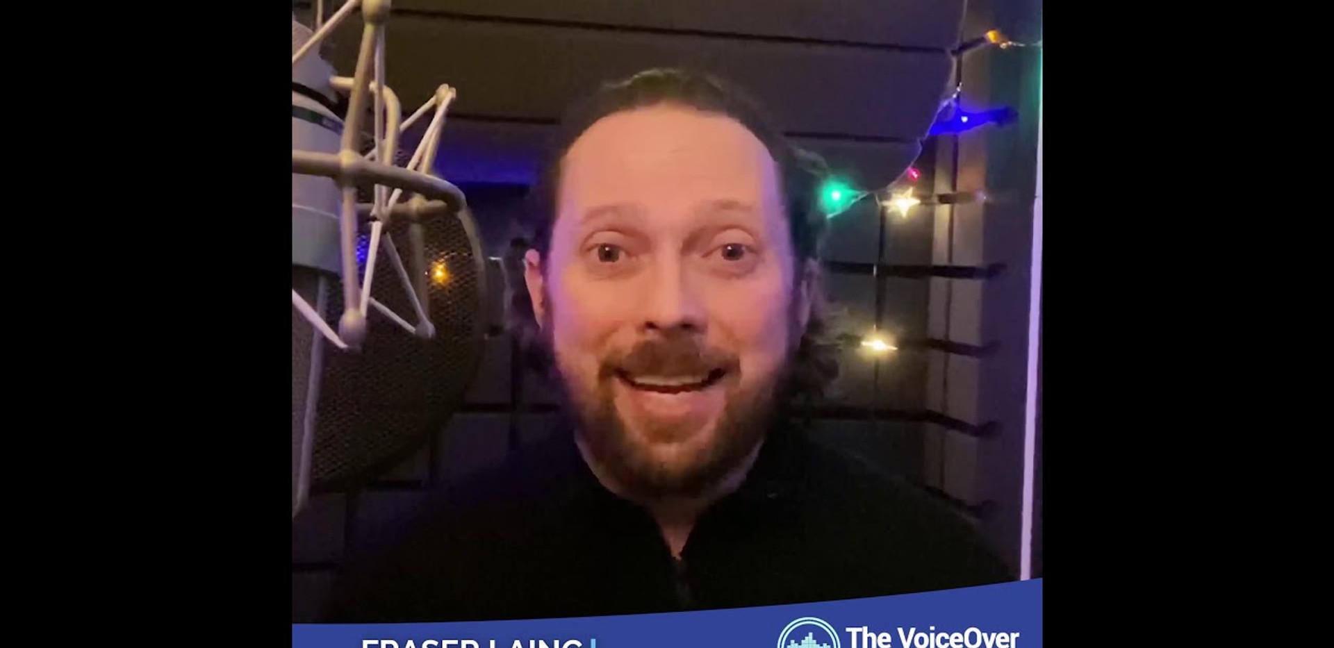 The Voice Over Network - Fraiser Lang testimonial