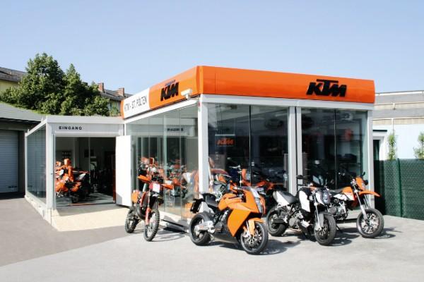 Garage moto en container 600x400