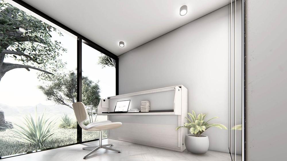 bureau de jardin modulaire