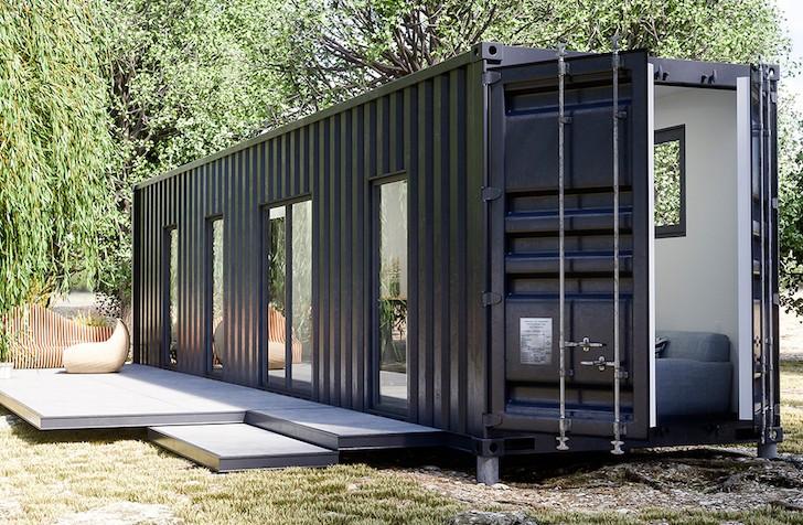 container aménagé container studio prix